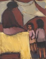 Eleanor Esmonde-White; Woman with Children