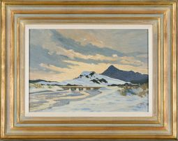 George William Pilkington; Chapman's Peak from Clovelly, Cape Town