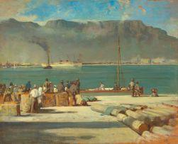 Walter Gilbert Wiles; Cape Town Docks