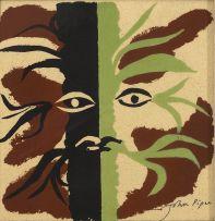 John Piper; Foliate Face