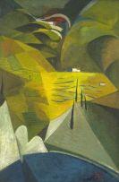 Stanley Pinker; Spanish Landscape