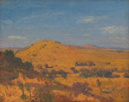 Jacob Hendrik Pierneef; Landscape, South West Africa