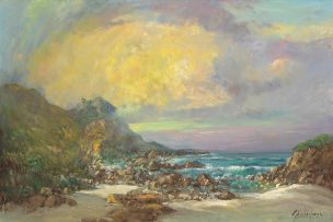 Gabriel de Jongh; Seascape