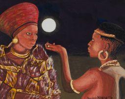 Joseph Manana; Two Women