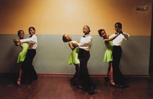 Jodi Bieber; 1, 2, 3 and ... The Ennerdale Academy of Dance, Ennerdale, 1998