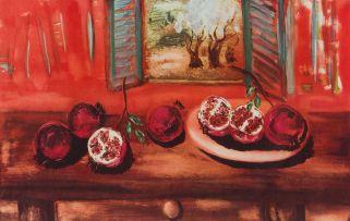 Reuven Rubin; Pomegranates