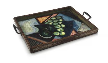 Edward Wolfe; Still Life Composition, tray