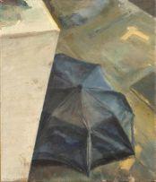 Clare Menck; Black Umbrella