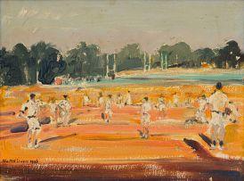 Walter Battiss; Masters' League (Cricket Match)