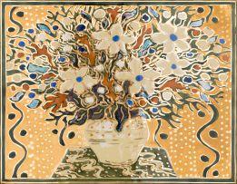 Esias Bosch; Vase of Flowers