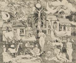 Jan Vermeiren; Fantasy Garden
