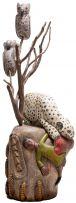Johannes Maswanganyi; Leopard Attacking a Man