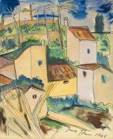 Irma Stern; French Riviera
