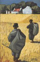 Peter Clarke; Harvesters, Teslaarsdal