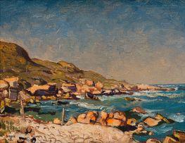 Gregoire Boonzaier; Coastal Landscape