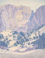 Jacob Hendrik Pierneef; Mountain Landscape