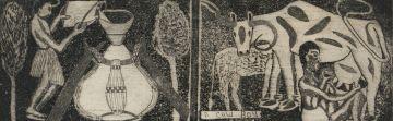 John Muafangejo; A Cow Boy