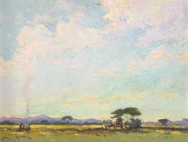 Walter Battiss; Spring Veld Scene