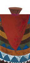 Bongi Bengu; Abstract Composition and Hat