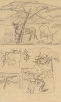 Maggie Laubser; Animal Sketches