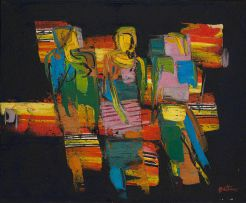 Walter Battiss; Three Figures