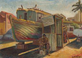 Jack Lugg; Boat Yard