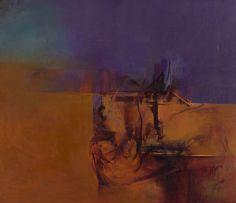 Wim Blom; Receding Landscape