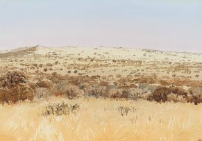 Walter Westbrook; Winter Landscape, Northern Cape