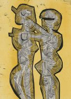 Cecil Skotnes; Two Figures