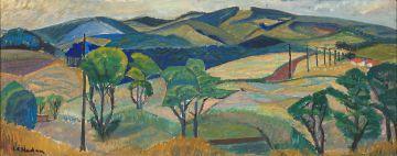 Leonora Everard-Haden; Farm Landscape