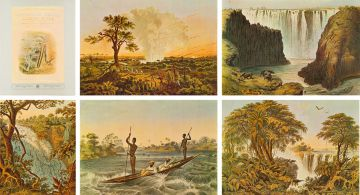 Thomas Baines; The Victoria Falls, Zambesi River, eight