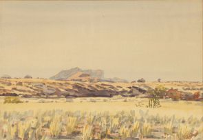 Adolph Jentsch; Landscape, South West Africa
