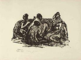 Fritz Krampe; Masai Women