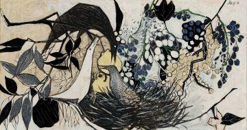Cecily Sash; Bird's Nest
