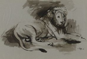 Zakkie Eloff; Resting Lion