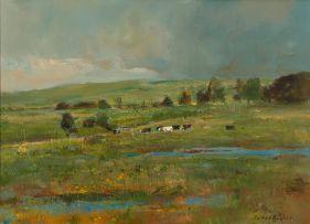 Errol Boyley; Cows, Farmland