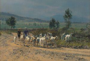 Dino Paravano; Goat Herder