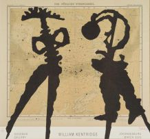 William Kentridge; William Kentridge: Goodman Gallery, Johannesburg, March 2003, poster