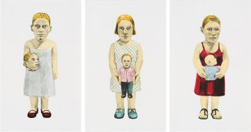 Claudette Schreuders; Three Sisters I, II, III, three