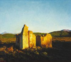 Walter Meyer; Ruined Building