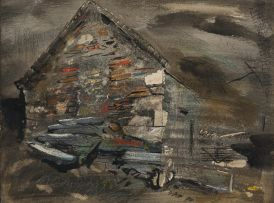 John Piper; An Old Cottage