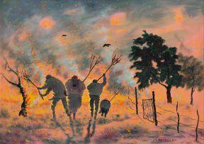 John Koenakeefe Mohl; The Veld Fire Fighters, W Tvl (SA)