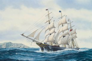 Peter Gerd Bilas; The Clipper 'Undine'
