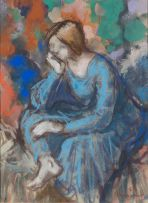 Hennie Niemann Snr; Seated Woman