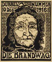 Jacob Hendrik Pierneef; Die Brandwag (Dubbel Nummer 10 Des 1916), Nilant 144