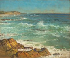 Walter Gilbert Wiles; Mouth of the Kariega from Kenton Beach