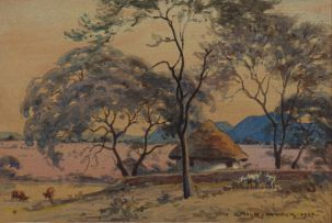 Erich Mayer; Rondavel Beneath the Trees