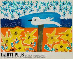 Walter Battiss; Tahiti Plus, poster