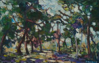 Kenneth Baker; Copse of Trees