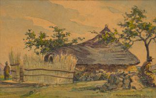 Erich Mayer; Kraal Scene